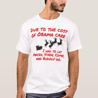 Obama Care Affects Santa T-Shirt