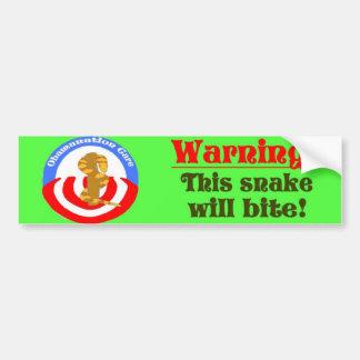obama care bumper sticker