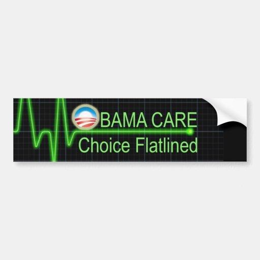 Obama Care Car Bumper Sticker