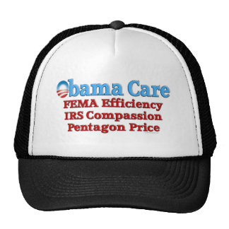 Obama Care: FEMA Efficiency Trucker Hat