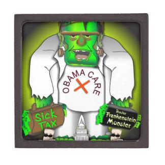 Obama Care Monster Premium Jewelry Box