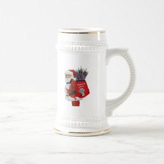Obama Care Santa Beer Stein