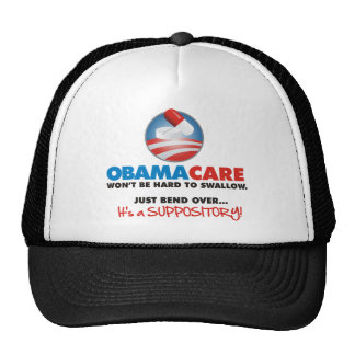 OBAMA CARE suppository Trucker Hat