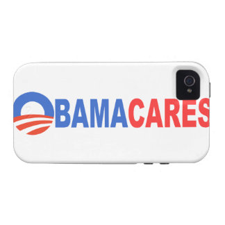 Obama Cares Vibe iPhone 4 Covers