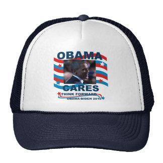 Obama Cares Hats