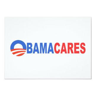 Obama cares custom announcement