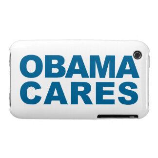 Obama Cares iPhone 3 Case