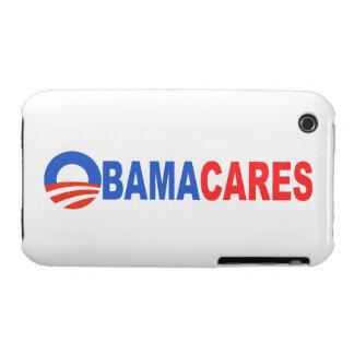 Obama cares iPhone 3 Case-Mate case