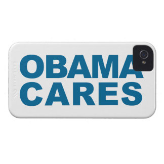 Obama Cares iPhone 4 Case