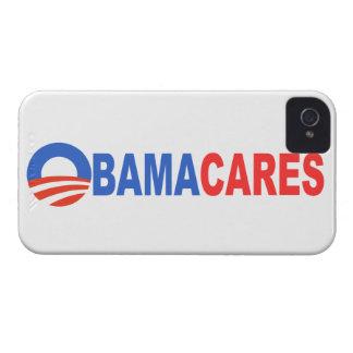Obama Cares iPhone 4 Case-Mate Case