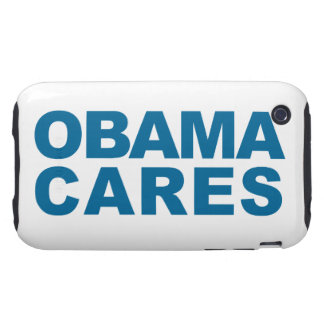 Obama Cares Tough iPhone 3 Case