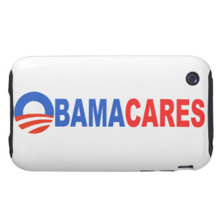 Obama Cares Tough iPhone 3 Cover