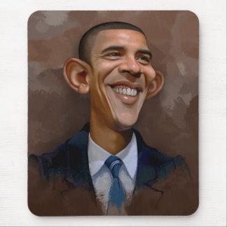 Obama Caricature Mouse Pad