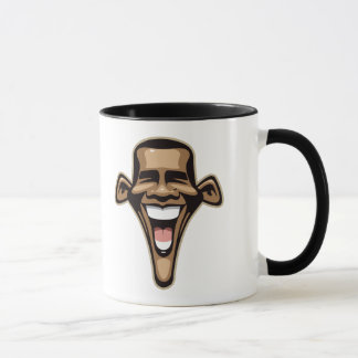 Obama Caricature Mug