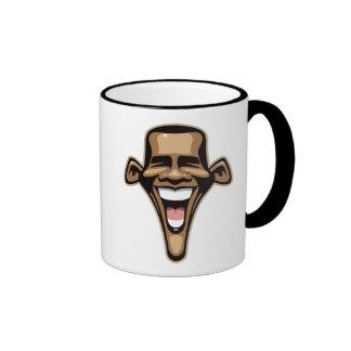 Obama Caricature Mugs