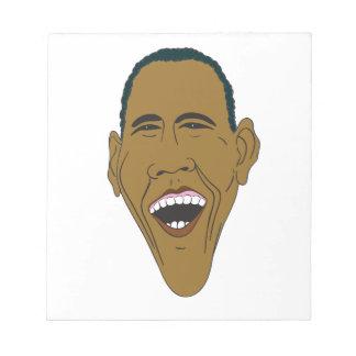 Obama Caricature Notepad