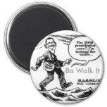 Obama-cartoon-1, paseo de los vagos él iman de nevera