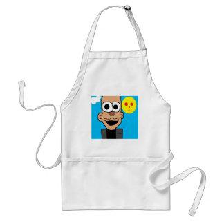 obama cartoon adult apron