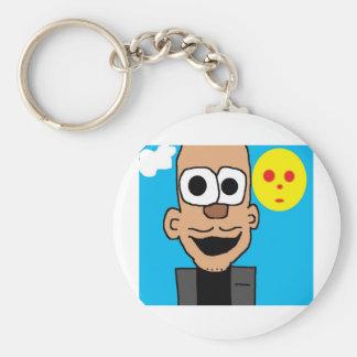 obama cartoon keychain