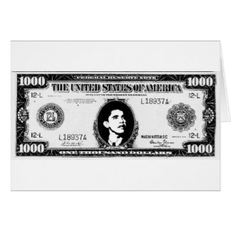 Obama Cash Card