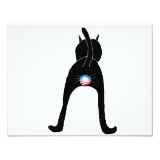Obama Cat Card