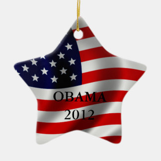 Obama Ceramic Ornament