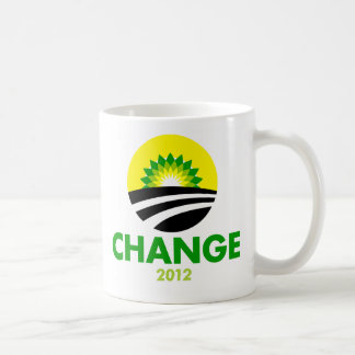 Obama Change 2012 Mug