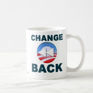 Obama:  Change Back Coffee Mug