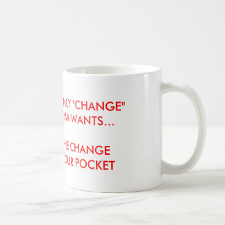 "Obama ""CHANGE"" Coffee Mug"