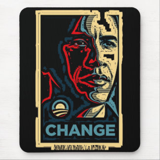 Obama Change Mouse Pad