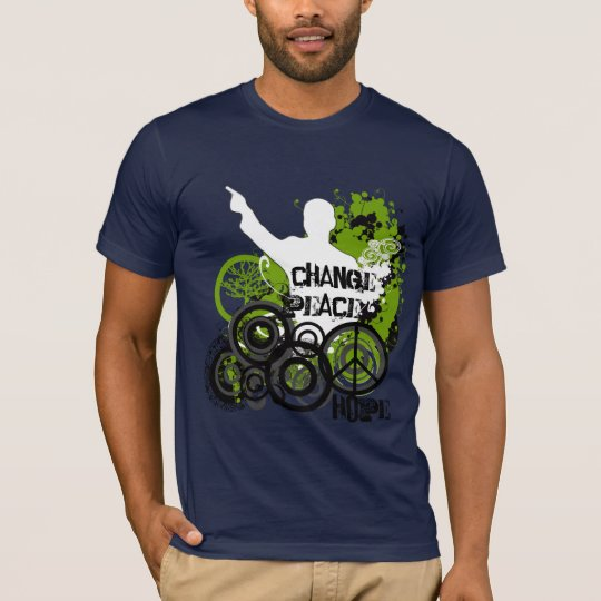 Obama - Change-Peace-Hope T-Shirt