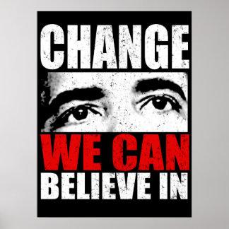Obama Change Poster