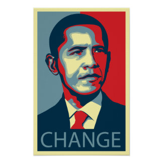 Obama Change Posters