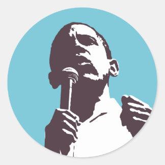 Obama: Change Sticker