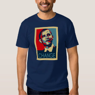 Obama Change Tee Shirt