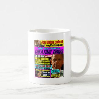 Obama Cheating Scandal Coffee Mug