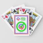 Obama Check Bicycle Playing Cards
