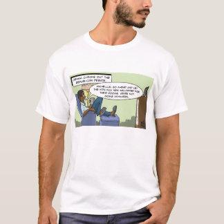 Obama Checks out the Republican Debate T-Shirt