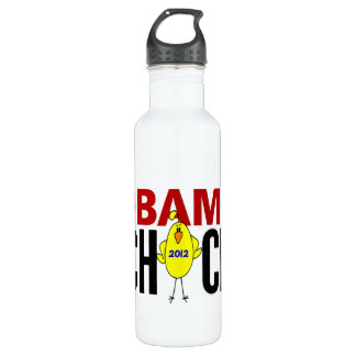 Obama Chick 2012 24oz Water Bottle