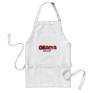 Obama Chick Adult Apron