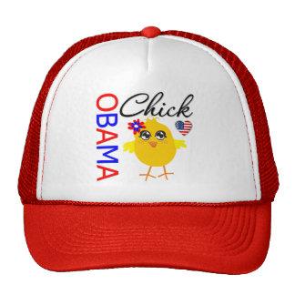 Obama Chick Trucker Hat