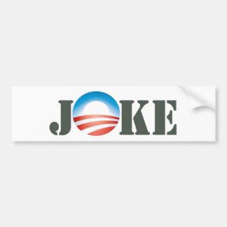 Obama = chiste pegatina para auto