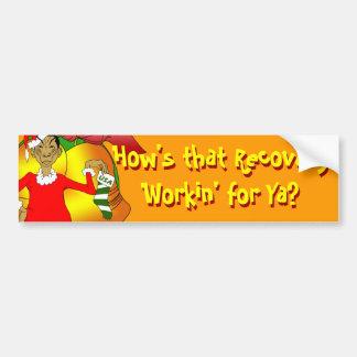 Obama Christmas Bumper Sticker