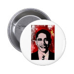 Obama Christmas Buttons