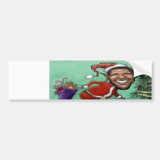 Obama Christmas Car Bumper Sticker