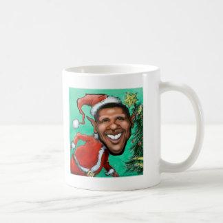 Obama Christmas Coffee Mug