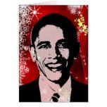 Obama Christmas Greeting Card