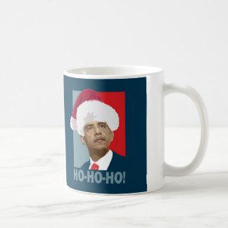 Obama Christmas Ho Ho Ho Coffee Mug