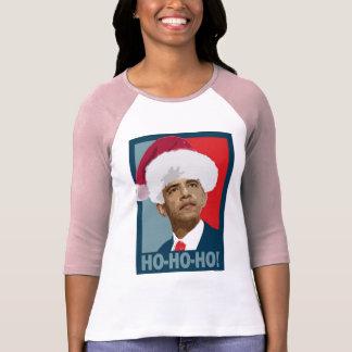 Obama Christmas Ho Ho Ho T-Shirt