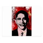 Obama Christmas Postcard